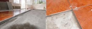 Підлогове покриття - плитка, керамограніт.